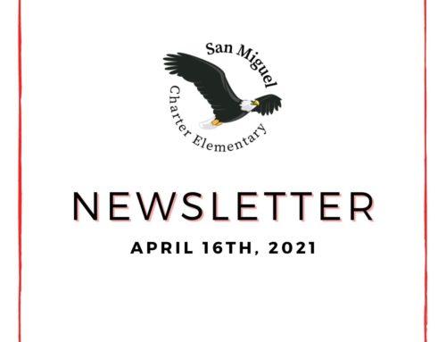 4.16.21 Newsletter