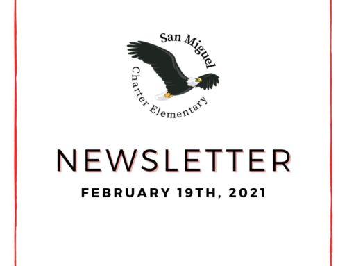 2.19.21 Newsletter