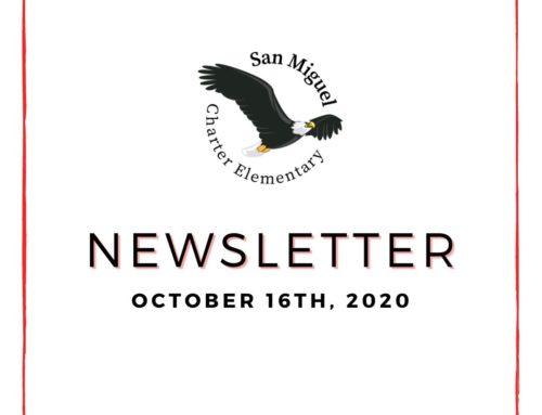 10.16.20 Newsletter